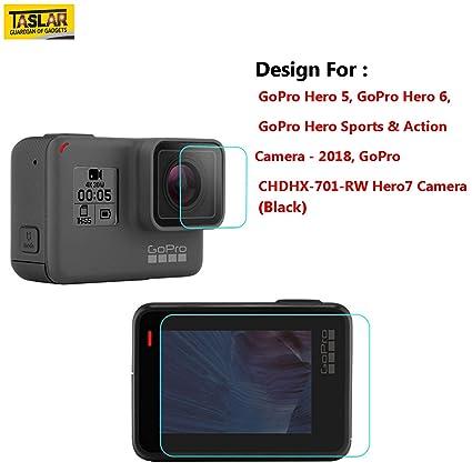 Buy Taslar Front and Back Tempered Glass for GoPro Hero 5 9691539b6f24