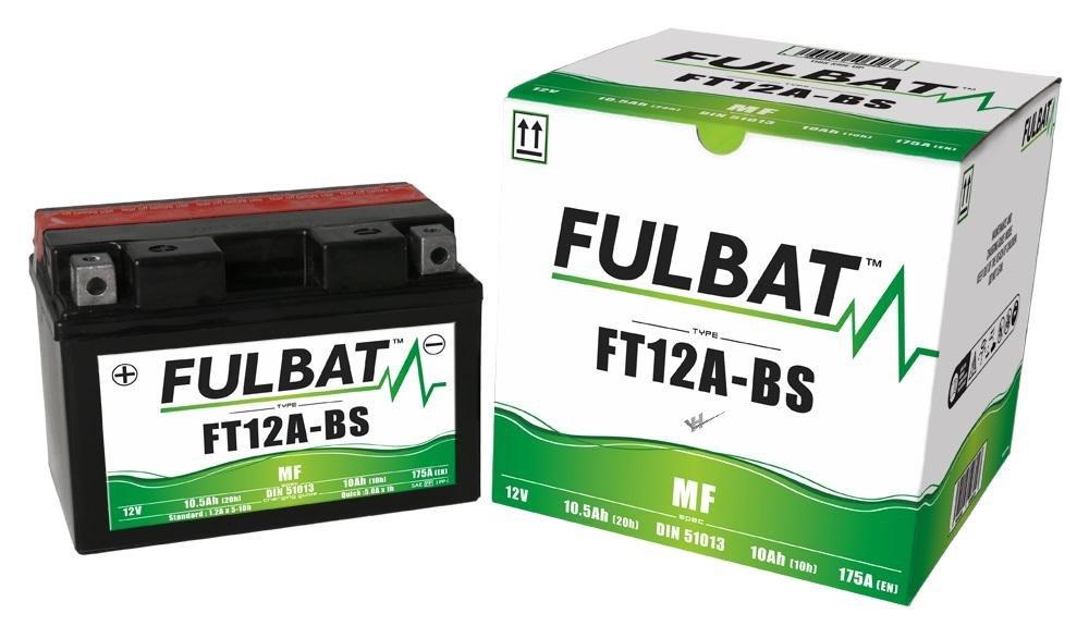 AZ FT12A-BS MF Fulbat Batterie 2017 ABS Suzuki GSX-S 750 A DIN51013 wartungsfreie AGM