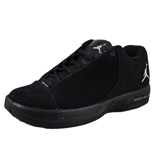lowest price 0286c aa9e3 Nike Jordan TE 3 Low Black Metallic Silver Black Men s Shoes - 453454-001 (