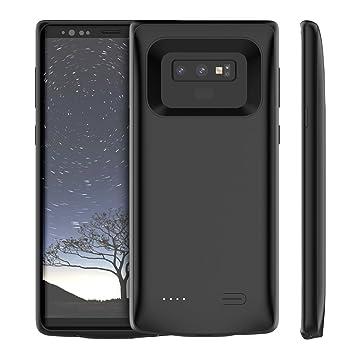Funda Batería Samsung Galaxy Note 9, Scheam 5000mAh Batería Carcasa Cargador Recargable Charging Battery Cover