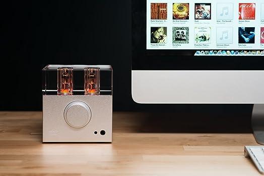 Woo Audio 2nd gen WA7 Fireflies Headphone Amplifier DAC in Silver