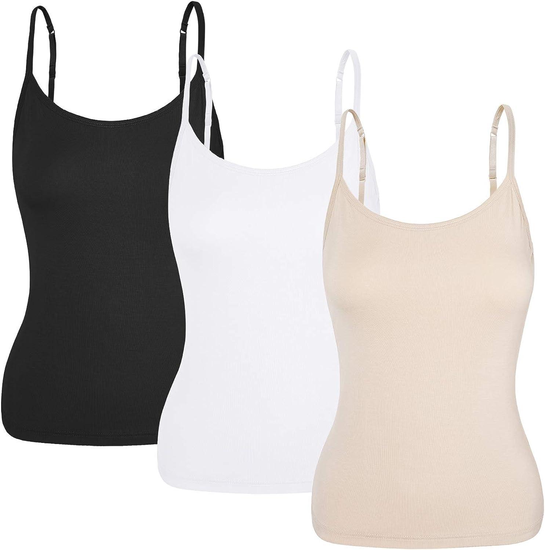Camisetas de Tirantes Mujer Chalecos Mujer Camisetas sin Mangas Mujer Natural Camisetas Interior Mujer Tirantes