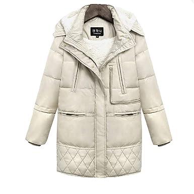 Aminicissant Mode La À Manteau Longue Épais Doudoune Femme Fanessy RwYq0CW
