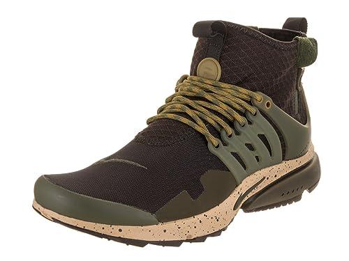 NIKE Air Presto Mid Utility Marrone Scarpe da Uomo Sneaker  Amazon.it  Scarpe  e borse 399243d9ac5b