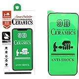GINDIN Película Protectora de Pantalla 9D Mica para Xiaomi Poco M3 [Paquete de 2] Película de cerámica antirrayas Flexible, C