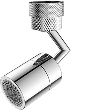 720° Faucet Nozzle Aerator Swivel Sink Rotatable Bubbler Tap Sprayer Connector