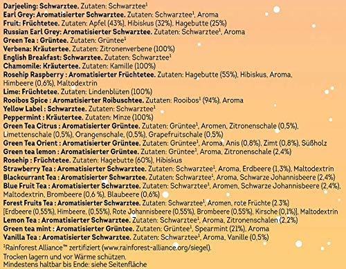 Lipton Calendrier de lAvent No/ël 24 Moments de Th/é 48 Sachets