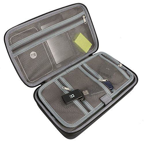 """co2CREA (TM) Universal Hard Shell EVA Carrying Storage Travel Case Bag for Powerbank HDD / Electronics/Accessories Extra Large (10.2""""x""""6.4''x3.2'' inch) by Co2Crea (Image #2)"""
