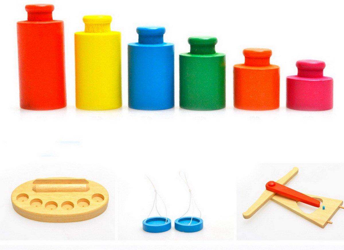 Kids Favorite fun toy Wooden Balance Beam Scale weights Machine kid Preschool Education Toy