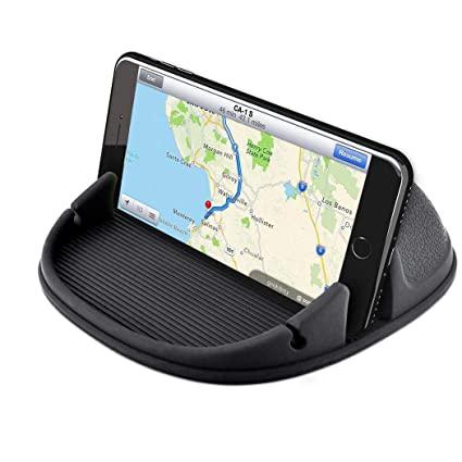 Free Cell Phones >> Cell Phone Holder For Car Dashboard Woocon Hand Free Anti Slip Car Phone Mounts Mobile Smartphone Gps Mounting In Vehicle For Iphone 7 7p 6s 6 X Xs 8