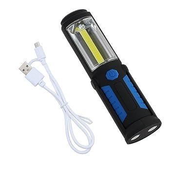 Taschenlampen Lampen & Laternen 360°+180° COB LED Taschenlampe Arbeitsleuchte Lampe Licht Handlampe mit AKKU