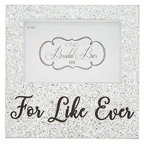 Icing Women's Glitter For Like Ever Photo Block - Silver