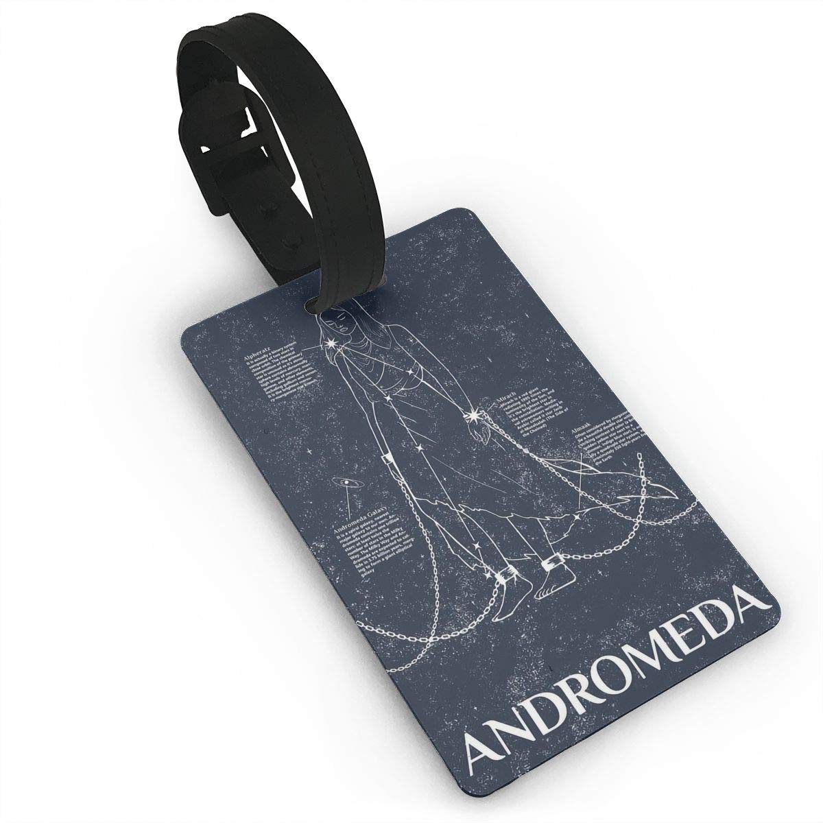 2 Pack Luggage Tags Constellation Andromeda Cruise Luggage Tag For Suitcase Bag Accessories