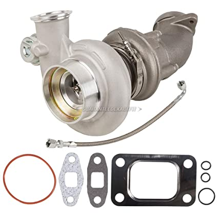 Amazon.com: Turbo Kit With Turbocharger Gaskets Elbow & Oil Line For Dodge Ram Cummins 5.9L - BuyAutoParts 40-80223IL New: Automotive