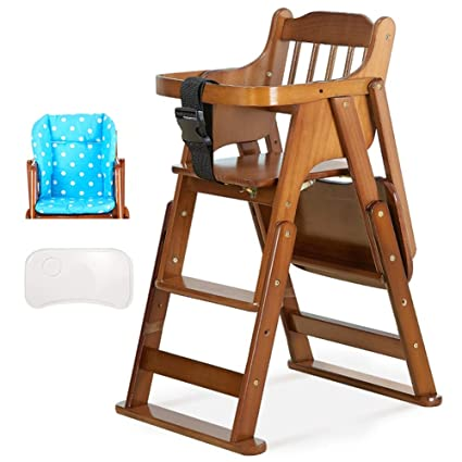 Admirable Amazon Com Lxla Deluxe Folding High Chair Toddler Chair Spiritservingveterans Wood Chair Design Ideas Spiritservingveteransorg