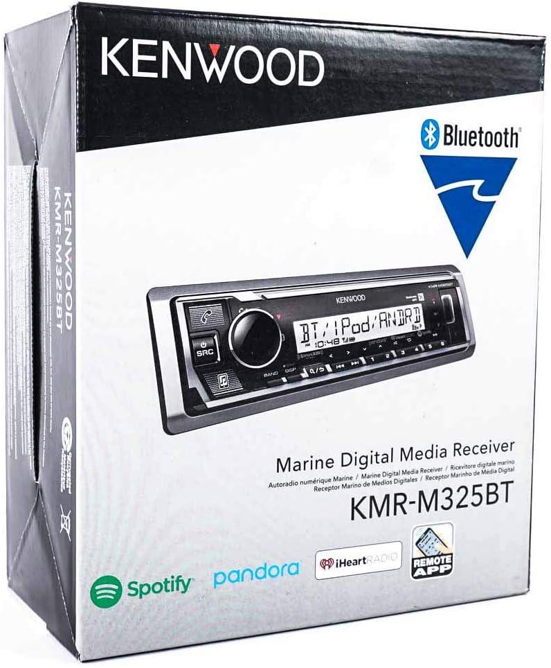Kenwood KMR-M325BT Marine Digital Media Receiver with Bluetooth