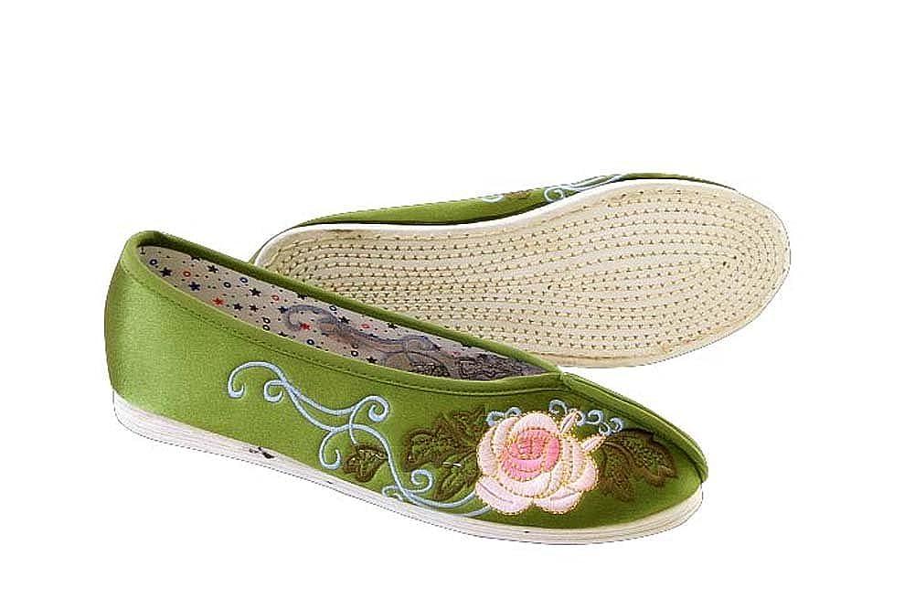 Orientalische Bunte Flache Damenschuhe Espadrillers 100% Manuelle Luxuriöse Damenschuhe Flache #103 176c19