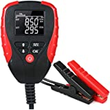 Andoer Digital 12V Car Battery Tester with AH/CCA Mode Automotive Battery Load Tester and Analyzer Automobile Vehicle…