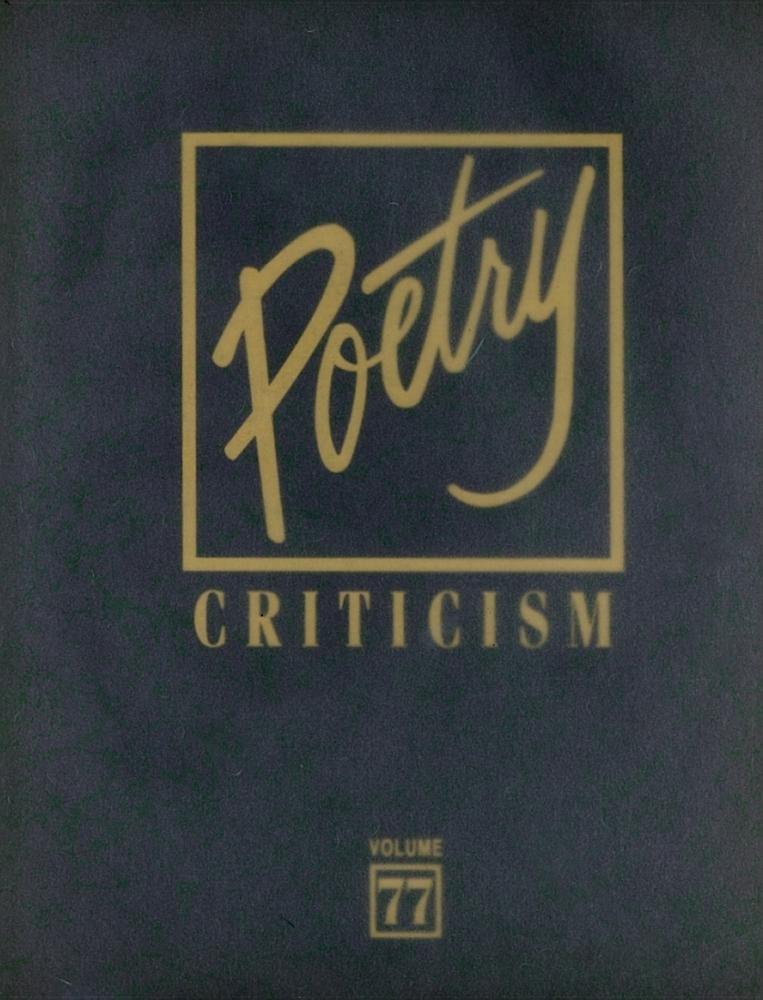 Download Poetry Criticism ebook