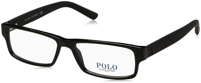 Polo Black Eyeglasses 55mm Ph2119 Shiny Men's T35ulcFJK1