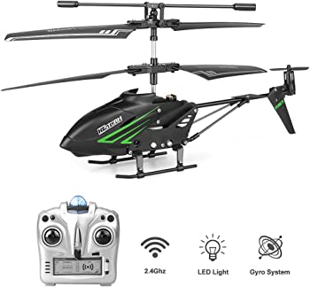 HiStorm Remote Control Helicopter with Gyro and LED Light