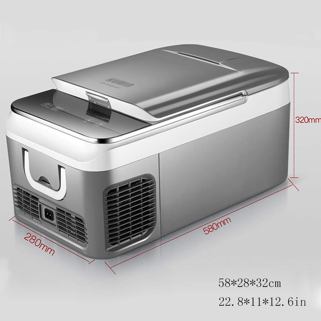 Mini refrigerador del automóvil 18L compresor refrigerador ...