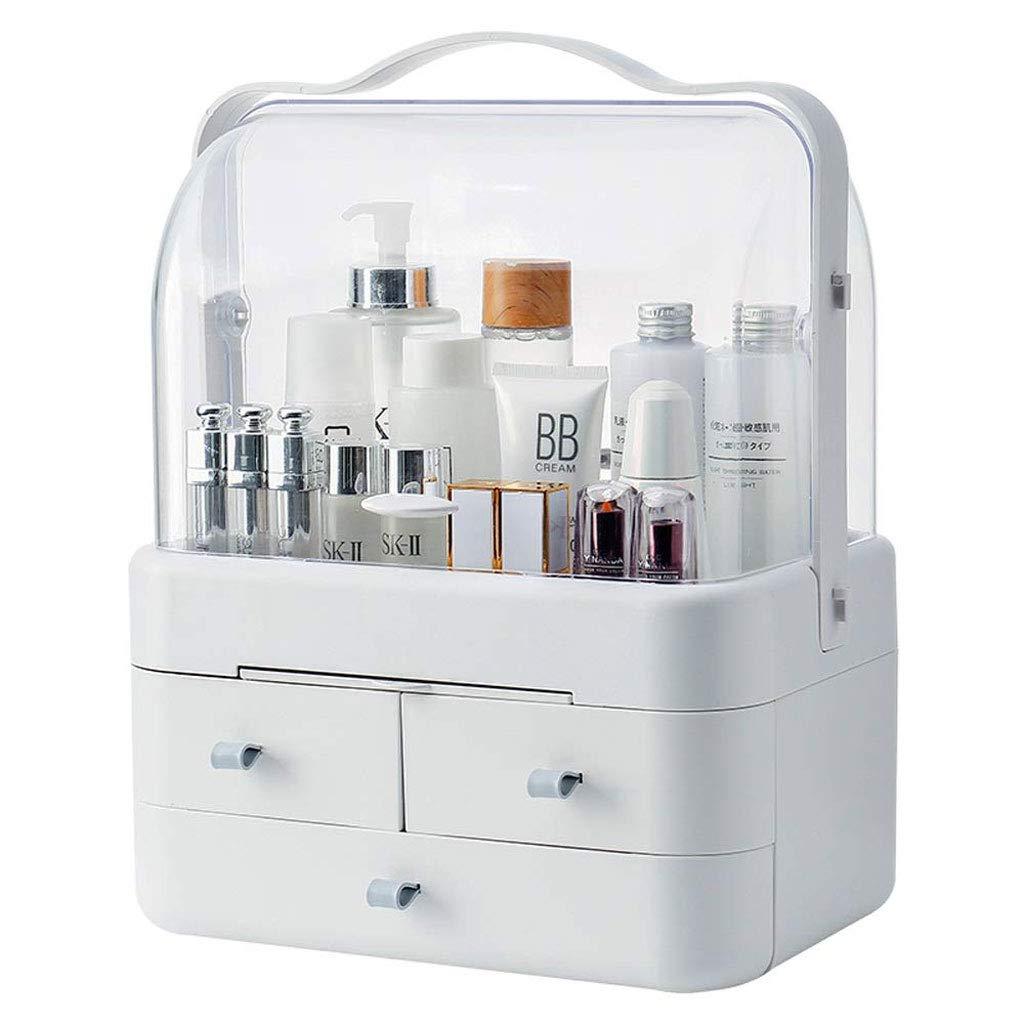 RANRANJJ Creative Storage BoxCosmetic Storage Box Simple Desktop Drawer for Cosmetics Jewelry Cosmetics Storage Box with Handle