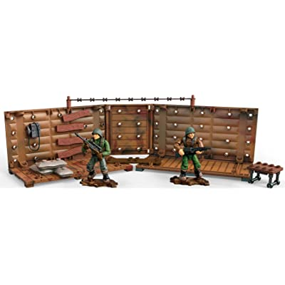 Mega Construx Call Of Duty WWII Armory Shipment Dom Building Set: Toys & Games