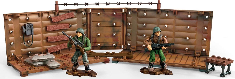 Mega Construx Call Of Duty WWII Armory Shipment Dom Building Set
