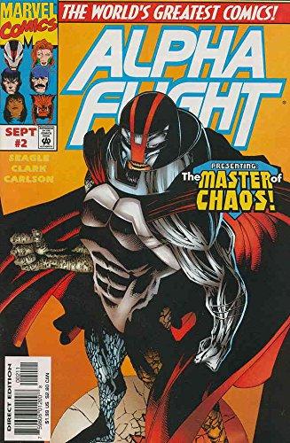 Alpha Flight (2nd Series) #2 VF ; Marvel comic book