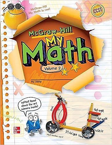My Math Vol 2 Grade 3 Elementary Math Connects Mcgraw Hill