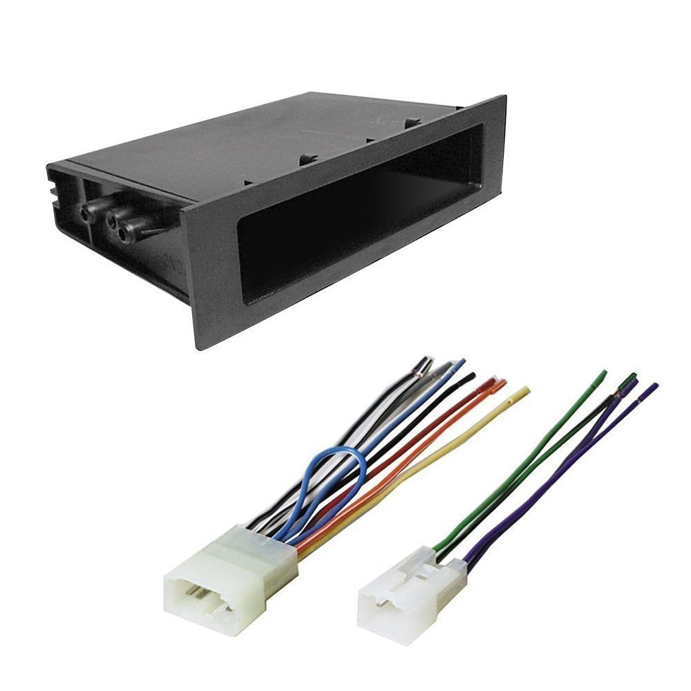 Amazon.com: Toyota 1999-2003 Camry Solara CAR CD Stereo Receiver Dash  Install MOUNTING KIT + Wire Harness: Car Electronics