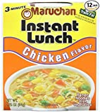 Maruchan Instant Lunch Chicken, 2.25 Oz., Pack of 12