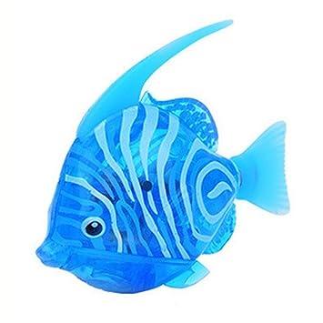 gallity eléctrico peces Natación Robot Fish Activado en agua mágica electrónica juguete niños juguete de regalo: Amazon.es: Instrumentos musicales