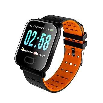 CkeyiN Montre Connectée,Bracelet Intelligent étanche Moniteur de fréquence Cardiaque Bracelet Intelligent Traqueur de Fitness