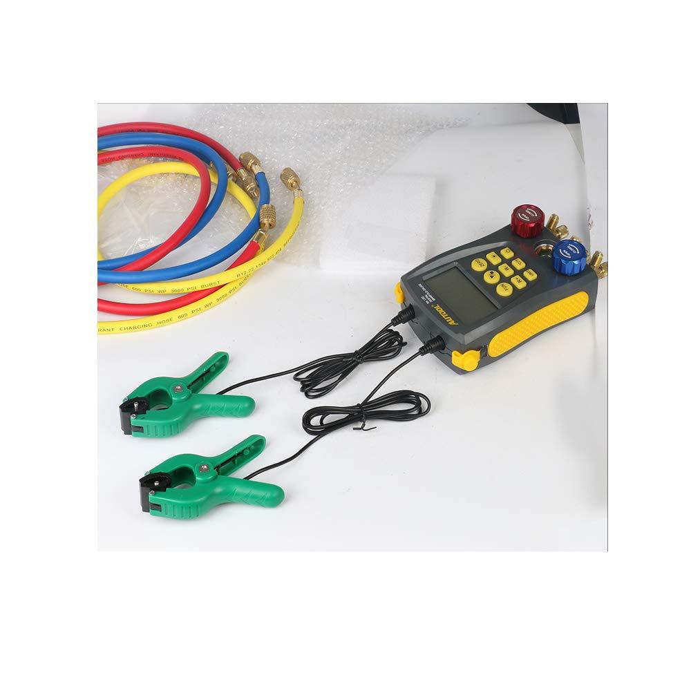 pinzas de sensor de temperatura para el colector de aire acondicionado DY517 DY515A Herramienta de inspecci/ón de aire acondicionado