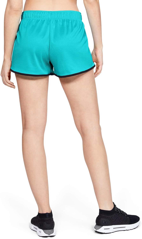 Under Armour Womens Tech Mesh 3-inch Shorts