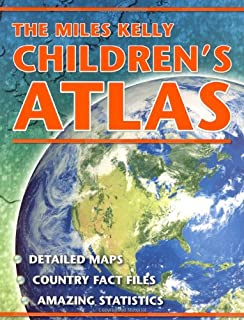 Scholastic atlas of the world miles kelly ltd 9780439087957 the miles kelly childrens atlas gumiabroncs Choice Image