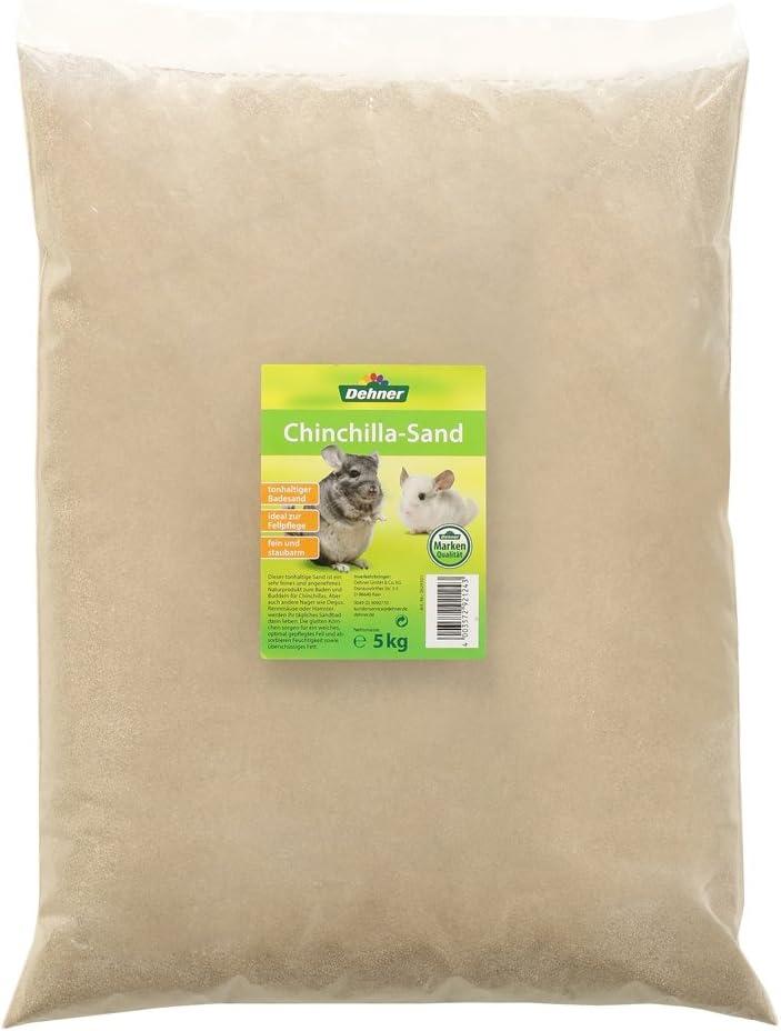 Dehner - Accesorio para roedores, Tierra de quinquinquinilla, 5 kg