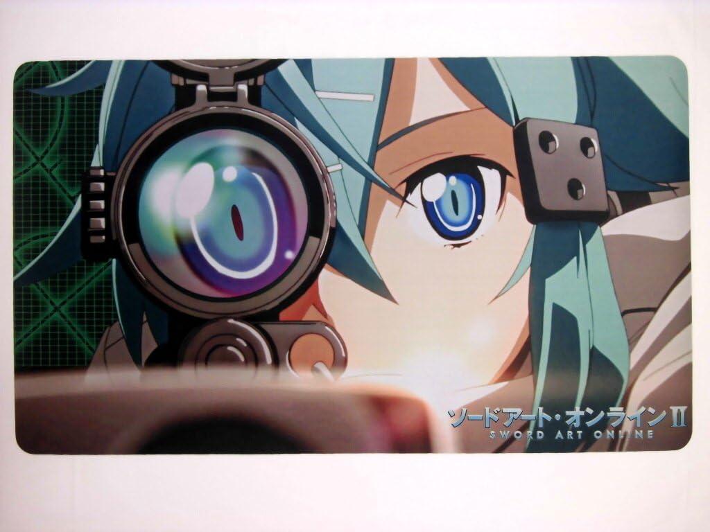 Amazon Sao ソードアート オンライン シノン カードゲーム プレイマット デスクマット アニメ 萌えグッズ 通販