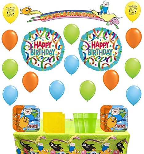 Time Party Favor Kit (Adventure Time Party Supply and Balloon Kit)
