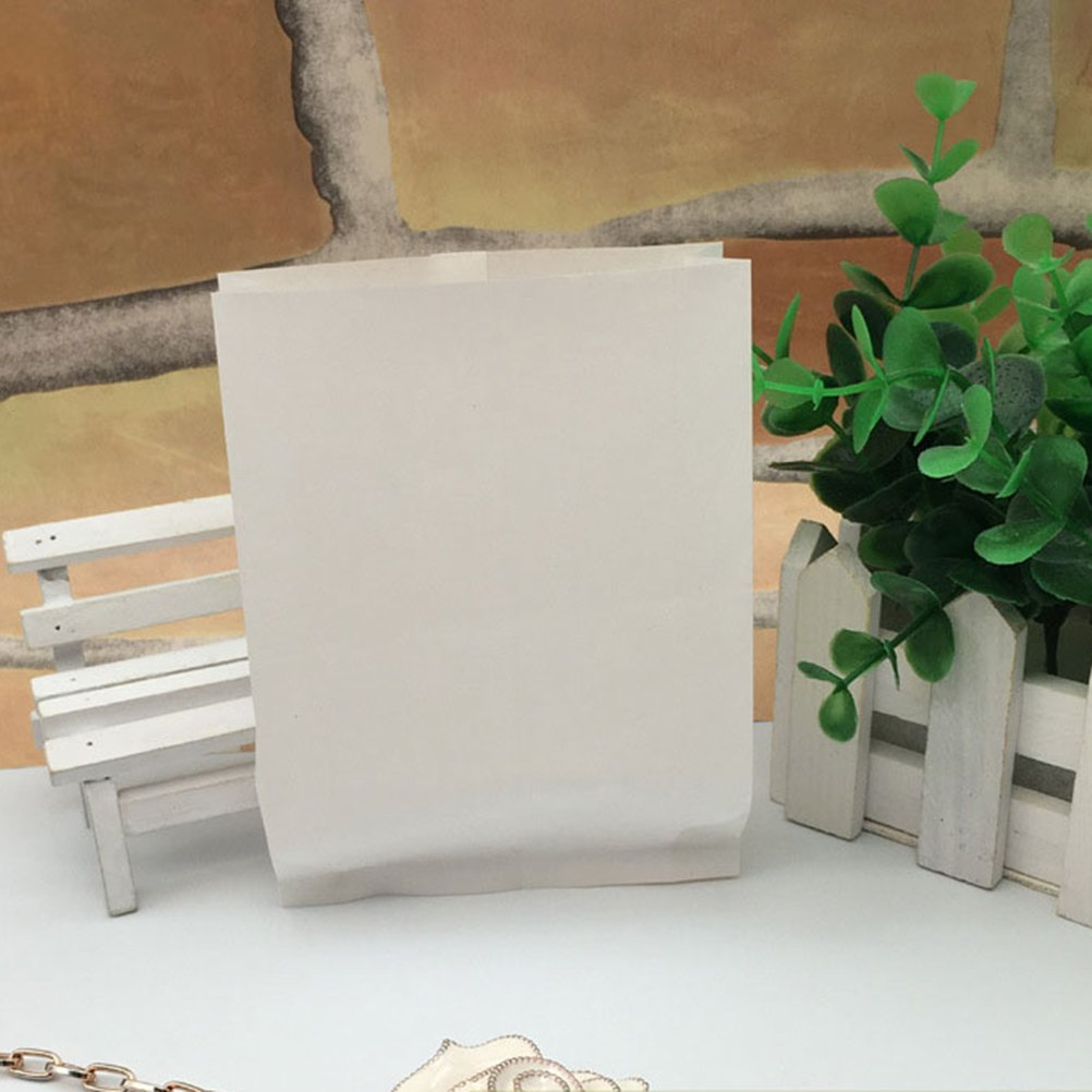 Besto nzon 100pcs bolsas de papel/ /bolsas de papel Pan Galletas Caramelos Bolsa del paquete