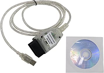 DCAN USB Interface OBD2 OBDII Car Diagnostic Tool Cable For BMW INPA Ediabas K