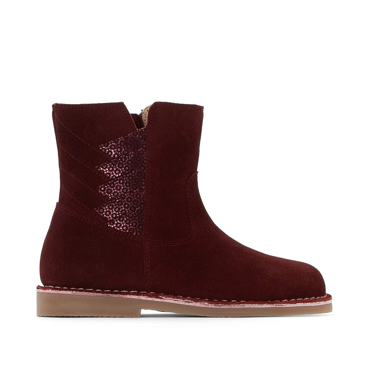 La Redoute Collections Big Girls Leather Ankle Boots
