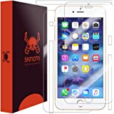 iPhone 7 Plus Screen Protector + Full Body , Skinomi TechSkin Full Coverage Skin + Screen Protector for iPhone 7 Plus Front & Back Clear HD Film - with