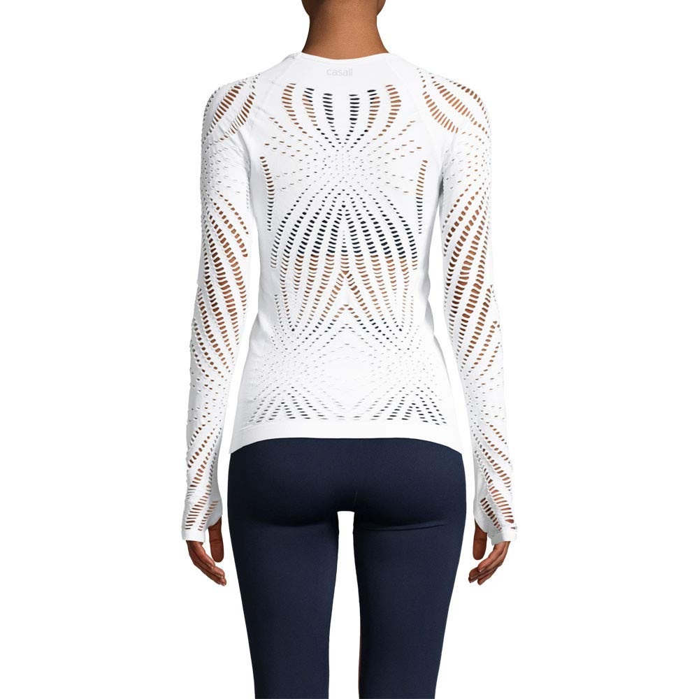 Casall Open Structure Long Sleeve Womens Top - AW18 at ...