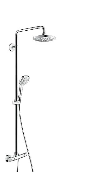 Bekannt hansgrohe Croma Select E 180 Duschsystem, 4 Strahlarten, weiß OR67