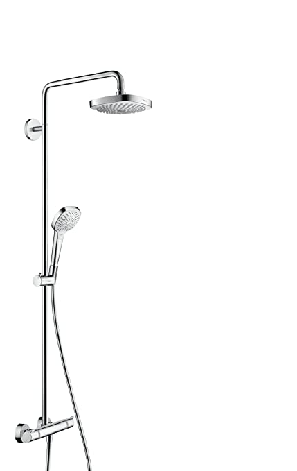 hansgrohe Croma Select E 180 all in one shower system with ...
