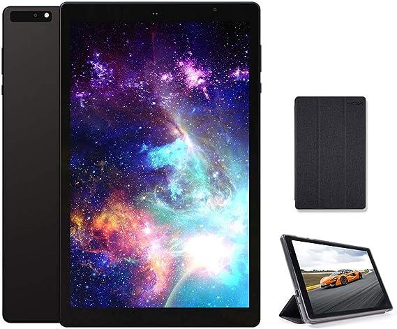 Amazon.com: MOXNICE P63 10.1 pulgadas Android Tablet con funda, Octa-Core Tablet, Android 9.0 Pie, 3GB RAM, 32GB ROM, IPS Full HD1920x1200 Display, 5G WiFi, cuerpo de metal esmerilado (negro): Computers & Accessories