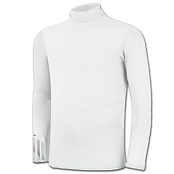 027758771 Adidas Junior 3-Stripe ClimaLite Tech-Fit Top - White - 10Y: Amazon ...